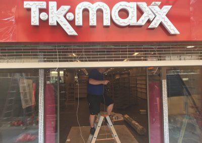 TK Maxx – Montage